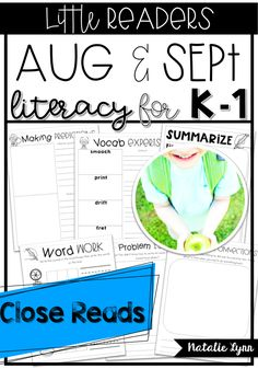 This unit contains everything you need for an engaging and effective whole group literacy block!