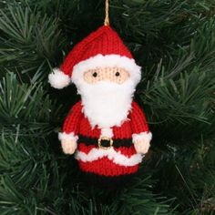 5 Jolly Santa Knitting Patterns
