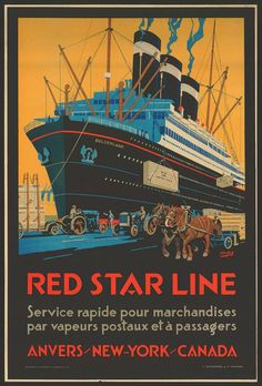 Red Star Line - Belgium.