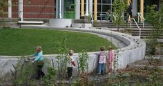 Adams Elementary Rain Garden   Seattle, WA   Berger Partnership