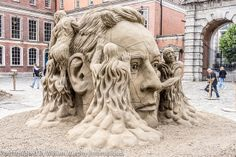 Sand Sculptures at Dublin Castle 2013 - Photographed By William Murphy | Flickr - Photo Sharing!