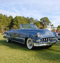 DeSoto Firedome convertible 1953