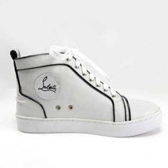 :: Christian Louboutin Men Shoes White ::