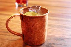Montana Mule- Jim Beam, ginger beer, and lime juice