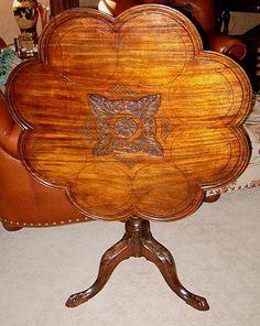 18th Century Georgian Tilt Top Table  $1,850 Tilt Table, Tea Tables, Leaf Design, Georgian, 18th Century, Tea Time, Angels, Table Lamp, The Originals