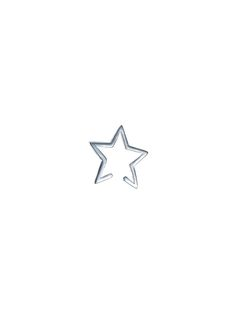 A unique slip on star ear cuff which requires no piercing to wear, available in a range of metal finishes. Shop our bestselling earrings at Tada & Toy. Earring Backs, Stargazing, Toy, Sterling Silver, Stars, Collection, Toys, Sterne, Game