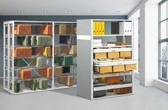 Regale mit Pendelstangen - Systeme Leitz oder Zippel › Büroregale, Fachbodenregale und Pendelhefterregale von Schulte Lagertechnik -