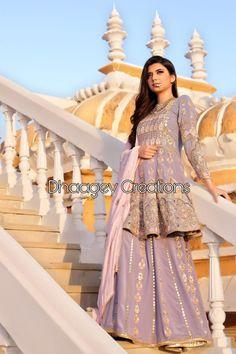 Pakistani Bridal Dresses, Pakistani Dress Design, Pakistani Outfits, Indian Dresses, Indian Outfits, Designer Party Wear Dresses, Indian Designer Outfits, Punjabi Suits Designer Boutique, Embroidery Suits Design