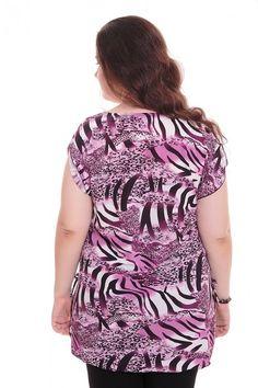 Блузка А5886 Размеры: 62-70 Цена: 345 руб.  http://optom24.ru/bluzka-a5886/  #одежда #женщинам #блузки #оптом24