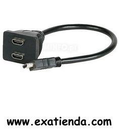 Ya disponible Cable hdmi hub 1m a 2h 0.20m    (por sólo 16.89 € IVA incluído):   -Cable divisor de señal HDMI. Permite enviar la imagen a 2 monitores simultáneamente desde una única salida HDMI. -Longitud de cable: 0.20 m -Número de conectores: 2 -Conector HDMI, macho:1 -Conector HDMI, hembra:2 -Color:Negro  Garantía de 24 meses.  http://www.exabyteinformatica.com/tienda/300-cable-hdmi-hub-1m-a-2h-0-20m #audio #exabyteinformatica