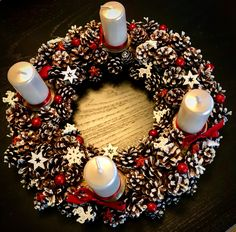 Christmas wreath made by me