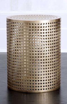 kelly wearstler precision occasional table executed in unlacquered polished bronze kreativ