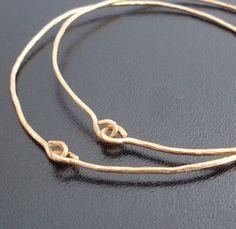 Hammered Gold Bangle Bracelets, Hammered Jewelry, Gold Hammered Bracelets 14k Gold Fill, Hand Forged Jewelry, Gold Hammered Bangle Bracelets by FrostedWillow on Etsy https://www.etsy.com/listing/89547799/hammered-gold-bangle-bracelets-hammered
