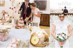 A christmas castle winter wedding wedding, by White Prague Wedding Agency