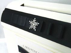 Personalised Diamante Snowflake Wedding Card Post Box (Ivory) Paper Memories http://www.amazon.co.uk/dp/B00E1MTLR6/ref=cm_sw_r_pi_dp_6mE2vb1HNHM67