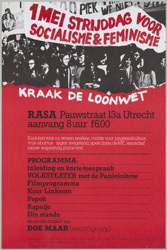 1 mei strijddag voor socialisme & feminisme