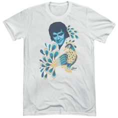 Elvis Peacock Adult Tri-Blend T-Shirt