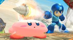 Kirby & Mega Man, Super Smash Bros- Wii U