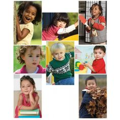 All Kinds of Kids: Preschool Bulletin Board Set, NS3048