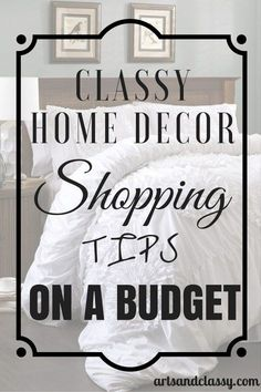 Check out this resource of classy home decor shopping tips and companies where you can get what you want on a budget. Are you furnishing your first apartment or home? Check out the amazing deals I have found.
