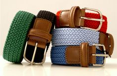 Cotton Belt from Townhouse...love the classic look of these belts.  But expensive, I think I'll find a more affordable alternative.
