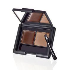 elf eyebrow kit: e.f ash eyebrow kit: elf cosmetics: elf makeup: eyes lips face Best Drugstore Makeup, Makeup Dupes, Beauty Makeup, Makeup Kit, Elf Dupes, Makeup Cosmetics, Makeup Brushes, Eyebrow Makeup, Colorful Makeup