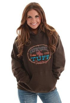 Cowgirl tuff hoodie