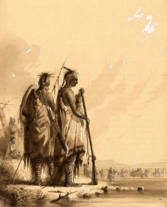 Crossing to the North Fork of the Platte River Native American Photos, American Indian Art, Native American Tribes, American Artists, Jacob Miller, Sioux Nation, Mountain Man, First Nations, Fork