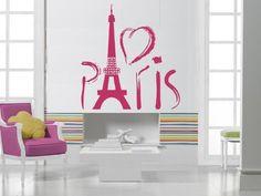 Paris Eiffel Tower Europe Tourist Mural Wall Art Decor Vinyl Sticker z706 by Easy Vinyl, http://www.amazon.com/dp/B00CNABR8O/ref=cm_sw_r_pi_dp_QVVTrb0HEDFJM