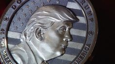 Russians generously mint a $10000 'Trump coin' in honor of his inauguration