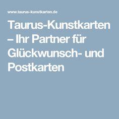 Taurus-Kunstkarten – Ihr Partner für Glückwunsch- und Postkarten