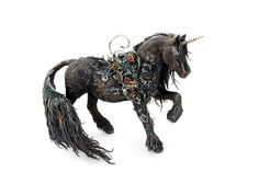 Horse Unicorn Figurine Skulpture Art Fantasy by DemiurgusDreams - my all time favourite Etsy shop
