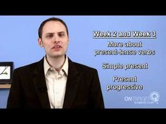 ESL: Introduction to simple present-tense verbs  online video English lesson  www.OnTargetEnglish.com