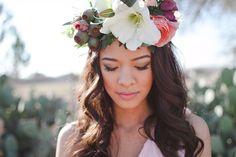 Hair floral crown wedding hair flowers dresses long hair crown wedding dress wedding images wedding pictures
