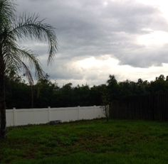 Thunder storms in Riverview, Fl. Share your storm pictures of the day!