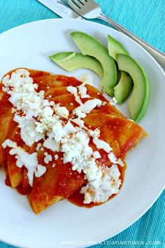 Entomatadas rellenas de pollo, para los que no les gusta el picante. Cocina Mexicana. by www.unamexicanaenusa.com