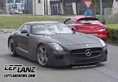 Spy photo of the 2014 Mercedes-Benz SLC!