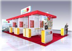 Exhibition stand design for Albania Tourist Board @1define