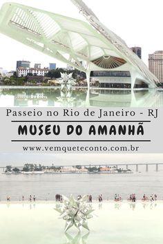 Museu do amanhã: reflexões na nova Praça Mauá, Rio de Janeiro - RJ. Brasil.