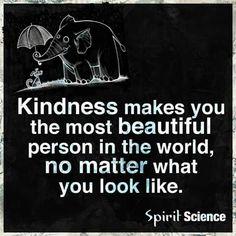 Kindness.