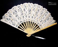 Wholesale Photo Props - Buy Vintage White Spanish Lace Hand Fan for Wedding Bridal Party Photo Props, $8.53 | DHgate