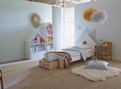 Un lit d'enfant comme une petite maison - La redoute interieurs