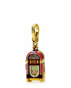 Multi Colored Jukebox Charm~ by Juicy Couture Pandora Bracelets, Pandora Jewelry, Charm Jewelry, Pandora Charms, Charm Bracelets, Jewelry Box, Jewelry Watches, Juicy Couture Charms, Juicy Couture Jewelry