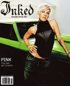 Pink Magazine Cover Pictures