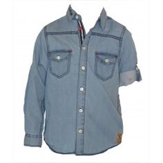 chemise en jeans - vêtements enfants