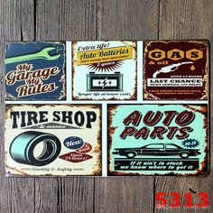 2019 20 30cm Beer Coffee Tavern Vintage Metal Sign Tin Poster Pub Bar Cafe  Shop Decor MY GARAGE MY RULES From Qwonly shop 74b7cec2cbb