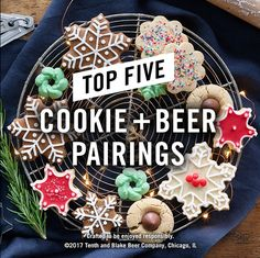 Add more cheer to your holiday cookie party with these expert beer pairings.