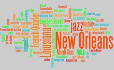 wordles free diy typography art, subway art, new orleans