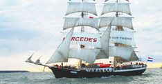 Sailing ship Mercedes | Wind Is Our Friend