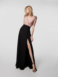 Siyah kokteyl elbisesi fotoğrafı (62040)